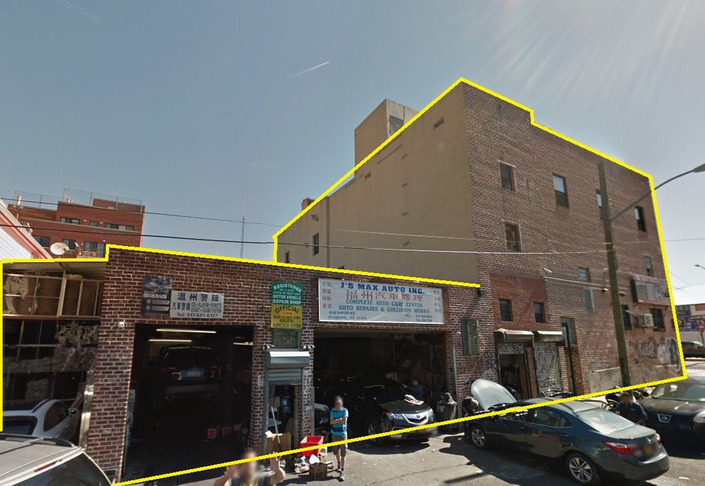 Longines Realty, Inc. - Commercial Real Estate Sale Listing ; 131-29 Sanford Ave NYC, Queens