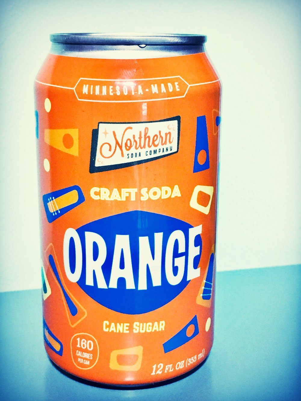 a classic orange soda based on a recipe from 1942. sweet and refreshing!