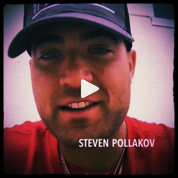 """Steven Pollakov Boston Redsox - @mass_steven""""As Catchers, during the game your main priority is to [...]"""