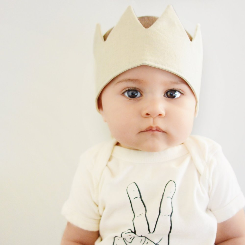 Babes  - For the little pals that are just entering the world. Give them a warm welcome with a fresh pair of threads. Shop