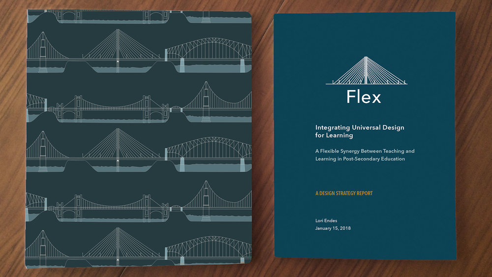 Left: Flex Toolkit (binder), Right Flex Report