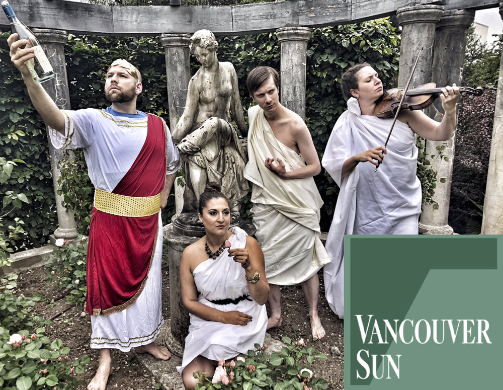 A VANCOUVER SUN preview of Players & Singers' Most Recent Show in June 2018.