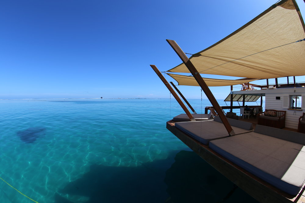 CLOUD9 - Fiji's most iconic day trip is a boat ride away. Azure blue seas, stunning scenery, cocktails and DJ inspired sounds. If this is your idea of heaven, book now.