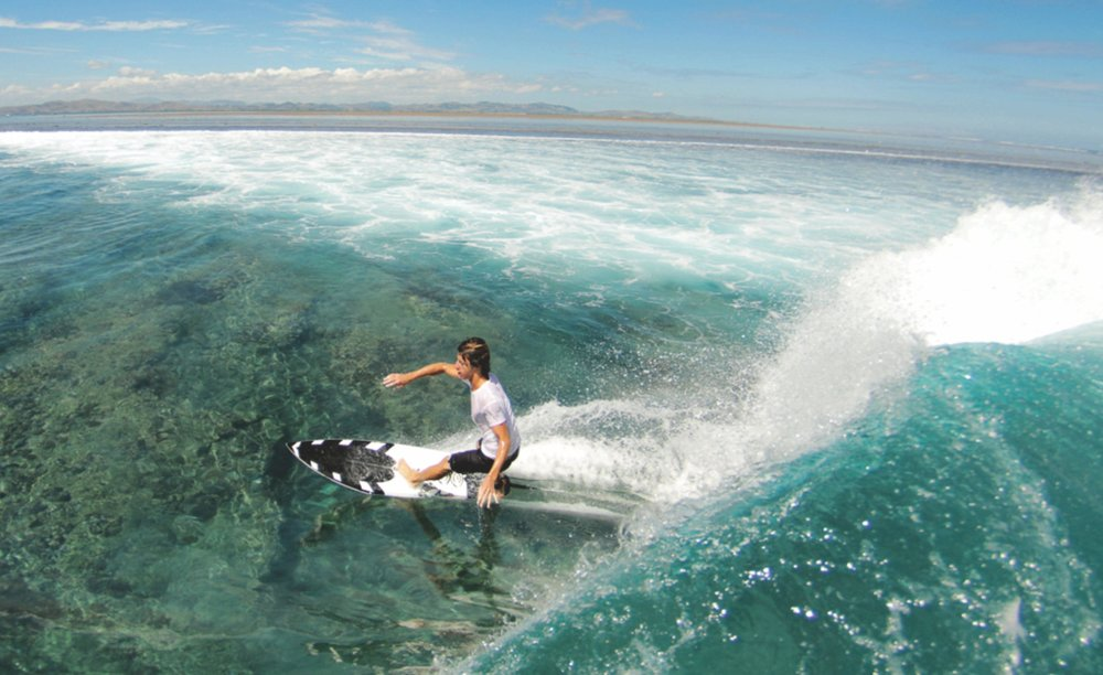 SURFING - Team up with Fiji Surf Co for an incredible adrenaline filled morning of surfing on some of the World's best reef breaks.