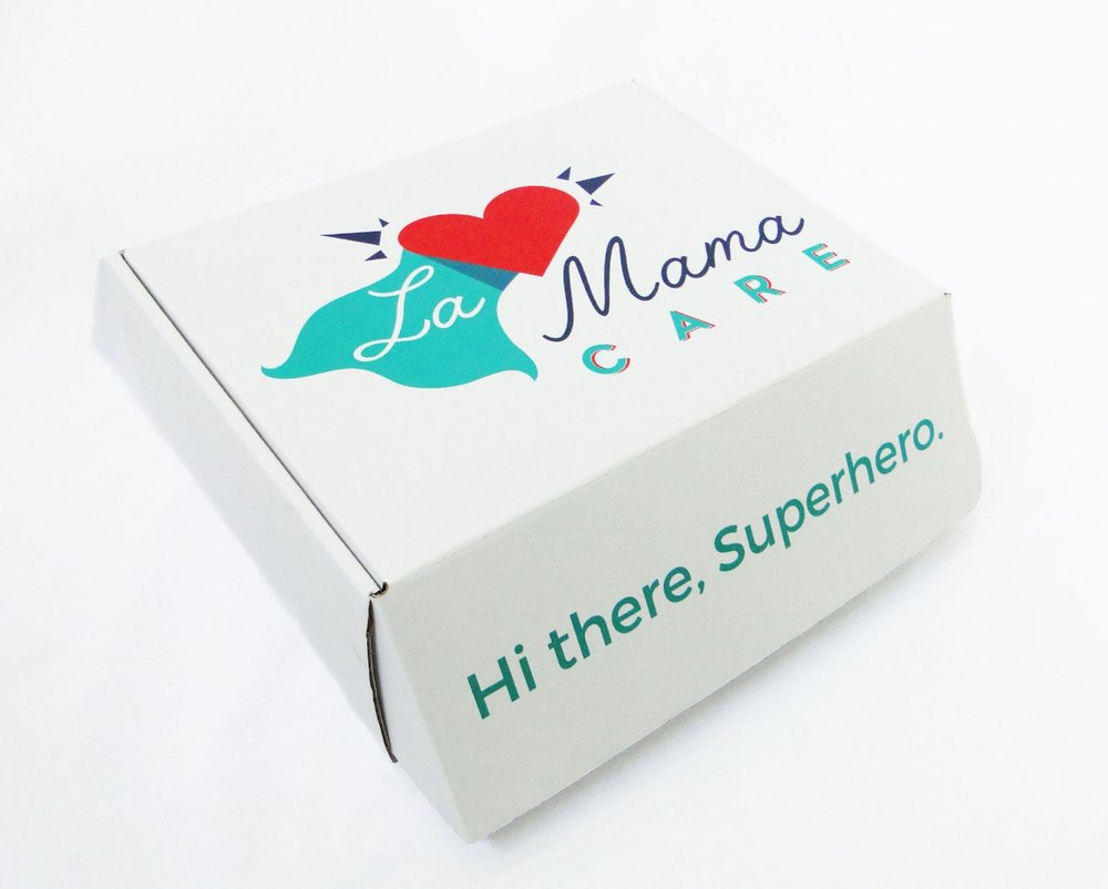 Even superheroes need support. - Postpartum care kits just for mama.