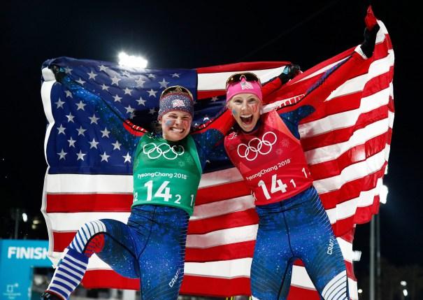Celebrating US Olympians