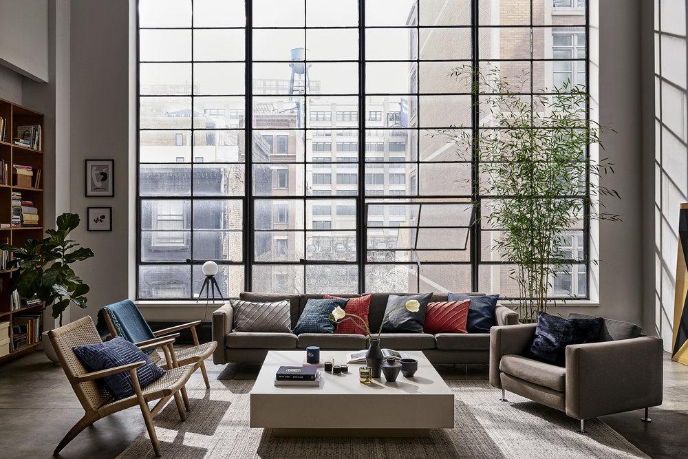 Fokus på former, dramatisk dekoration och colour blocking - Använd kompletterande färger för att skapa en intressant och fräsch atmosfär i rummet. Ge uttryck för din stil och personlighet i valet av inredningsdetaljer.