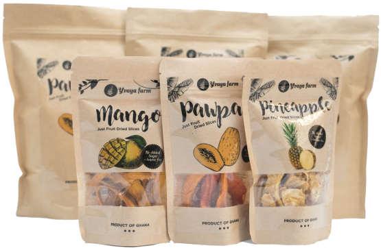 Image by  Yvaya Farm    Dried Fruit Snacks   $12-$24.