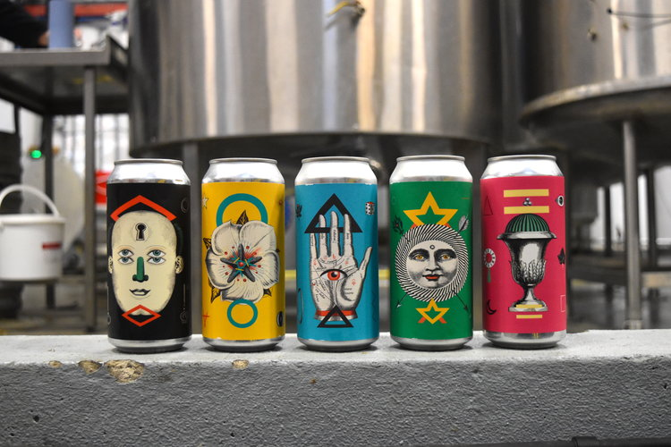 Image by  Wild Card Brewery    Individual cans starting at  £2.70