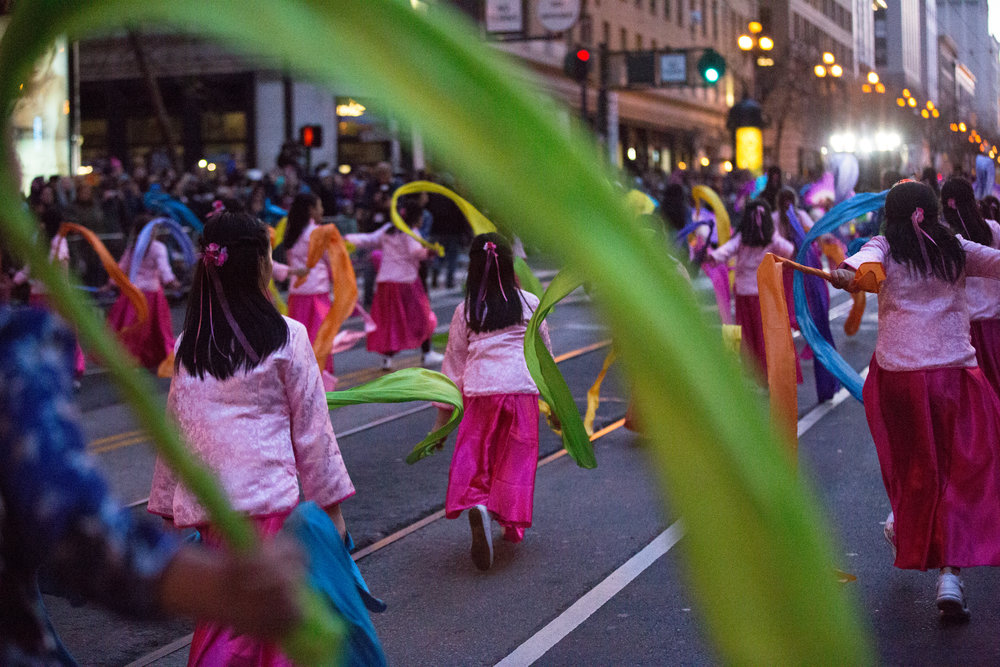 The Lunar New Year Parade kicked off on February 24, 2018 in celebration of the start of a new lunar calendar. The parade has taken place in San Francisco since the 18th century and is the largest celebration of Asian culture outside of Asia.