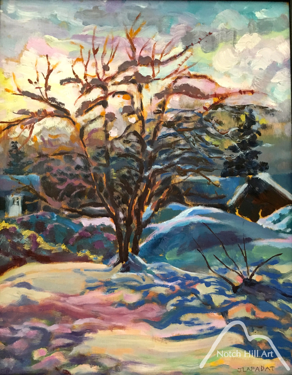 Crabapple Tree in Winter