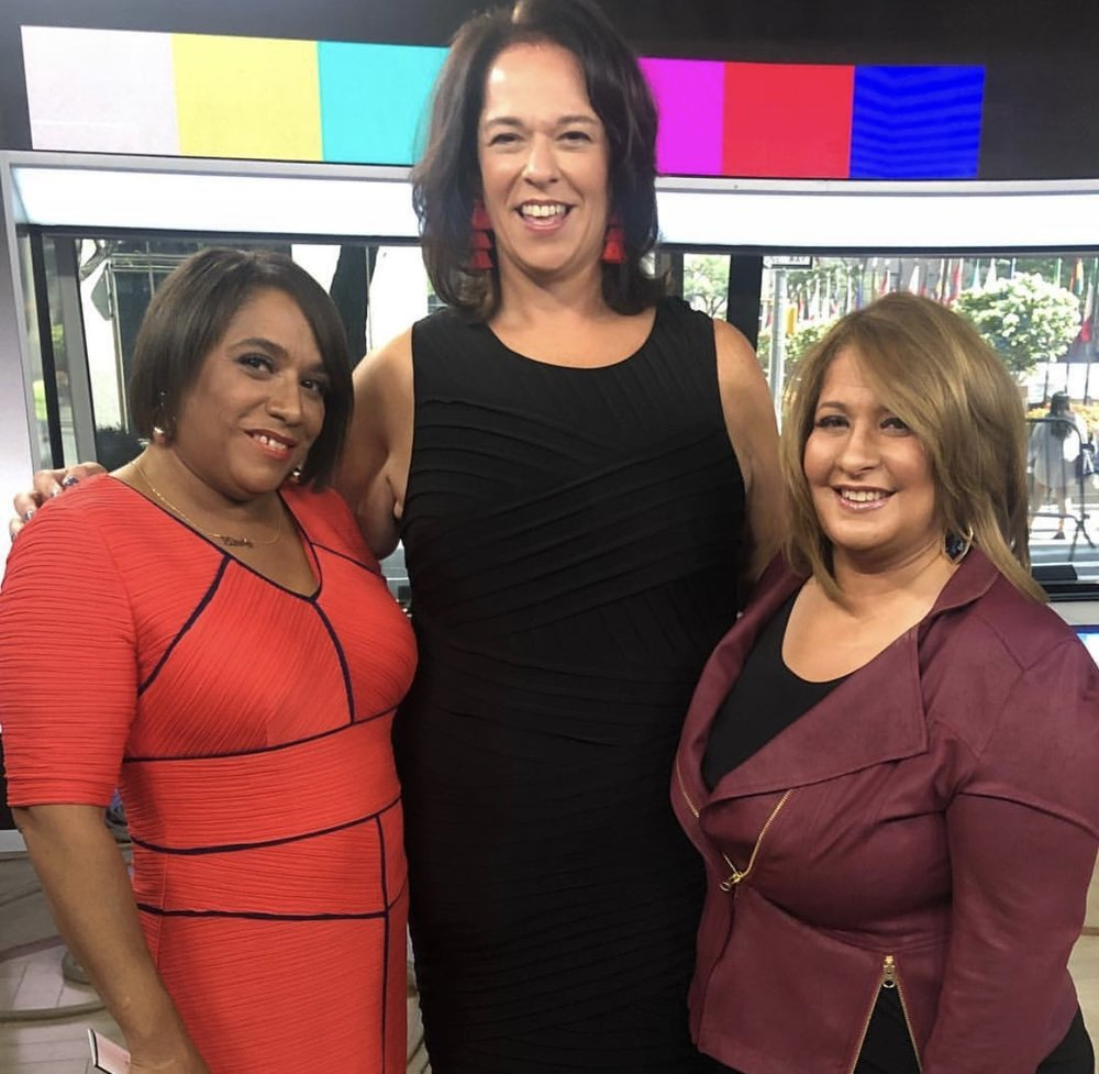 Bottomless Closet on The TODAY Show - Melissa Norden joins two Bottomless Closet clients as they get makeovers on The TODAY Show.