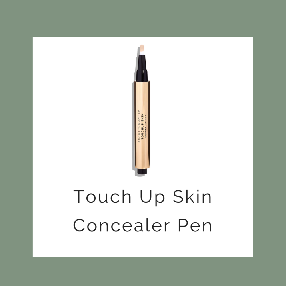 concealer - hides blemishes without chemicals & junk