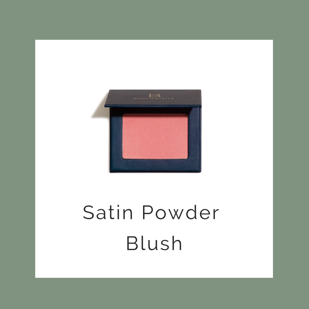 blush - I prefer Powder, but there is also a cream blush