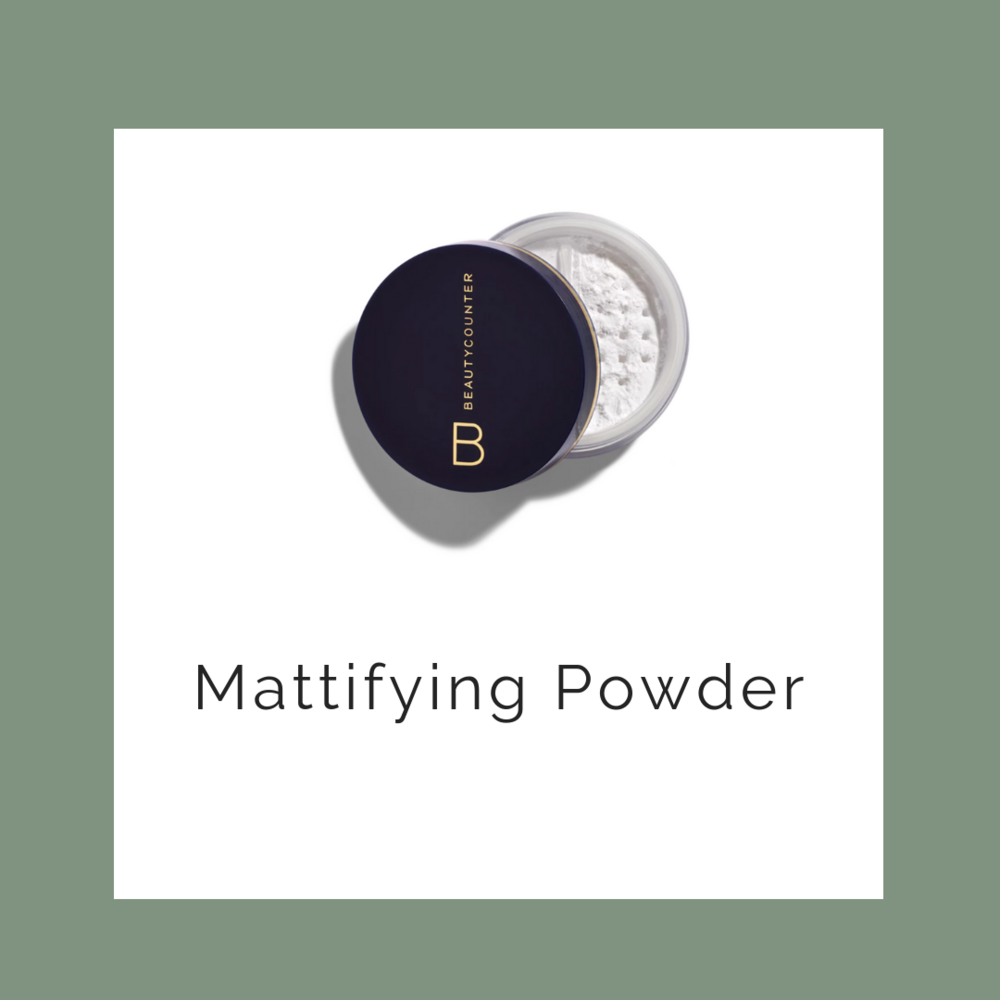 translucent powder - perfect for a day in the sun, or just an oily afternoon touch up