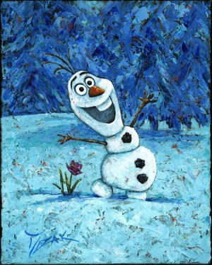 """""""Olaf"""" 20x16 (SOLD)"""