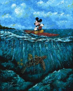 """Mickey's Summer"" 30x24"