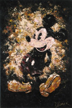 """Vintage Mickey"" 36x24"