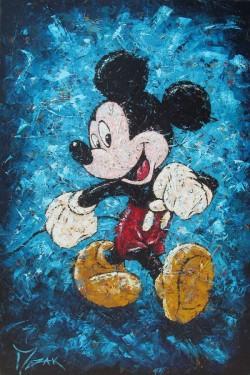 """Mouse Strut"" 36x24"