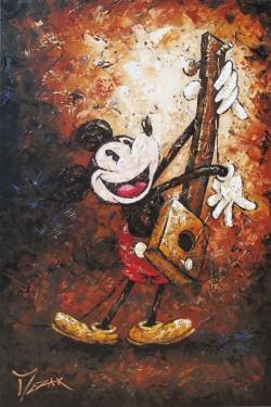 """Musical Mickey"" 36x24"