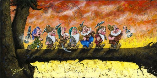 """""""Back to Home We Go"""" 15x30"""