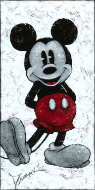 """""""One Classy Mouse"""" 24x12"""