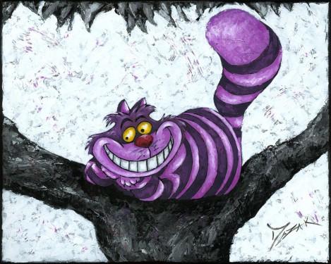 """""""Cheshire Smile"""" 16x20"""