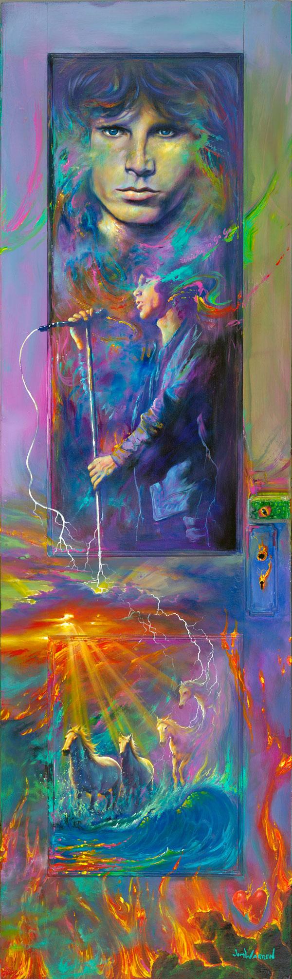 """""""Jim Morrison Door"""""""
