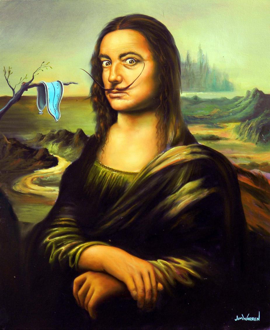"""""""Dali by Da Vinci"""""""