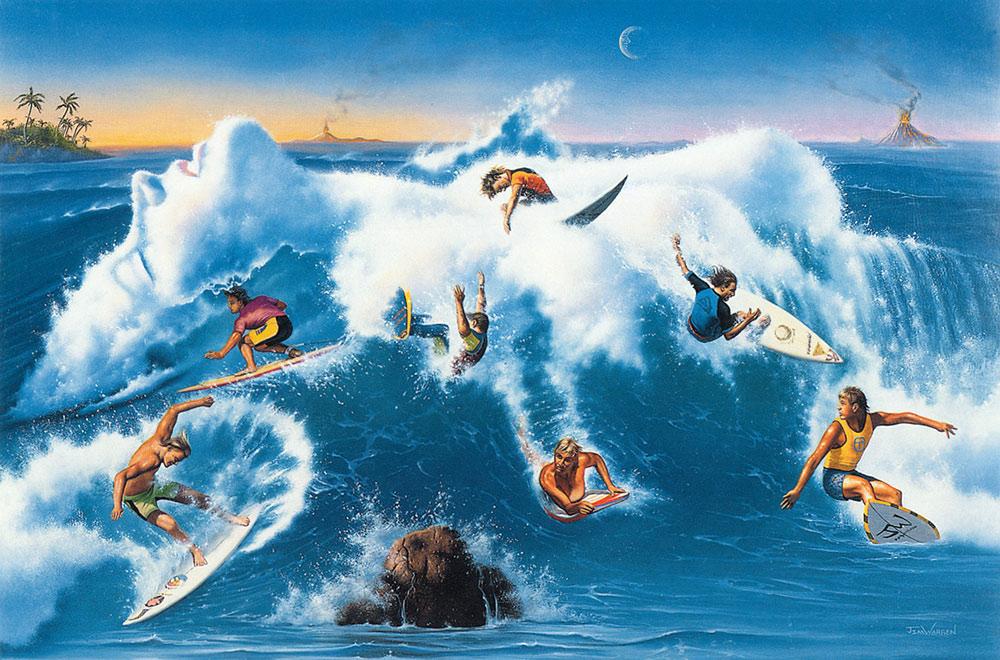 """""""Ride the Wild Surf"""""""