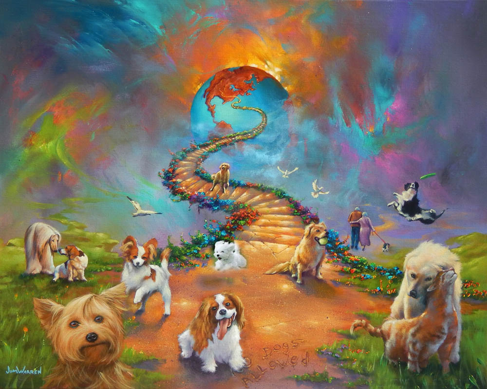 """""""All Dogs Go to Heaven 4 Bold Sky"""""""