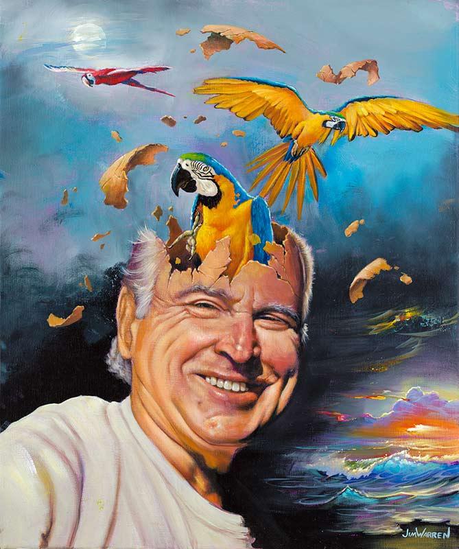"""""""Jimmy Buffett Parrot Head"""""""