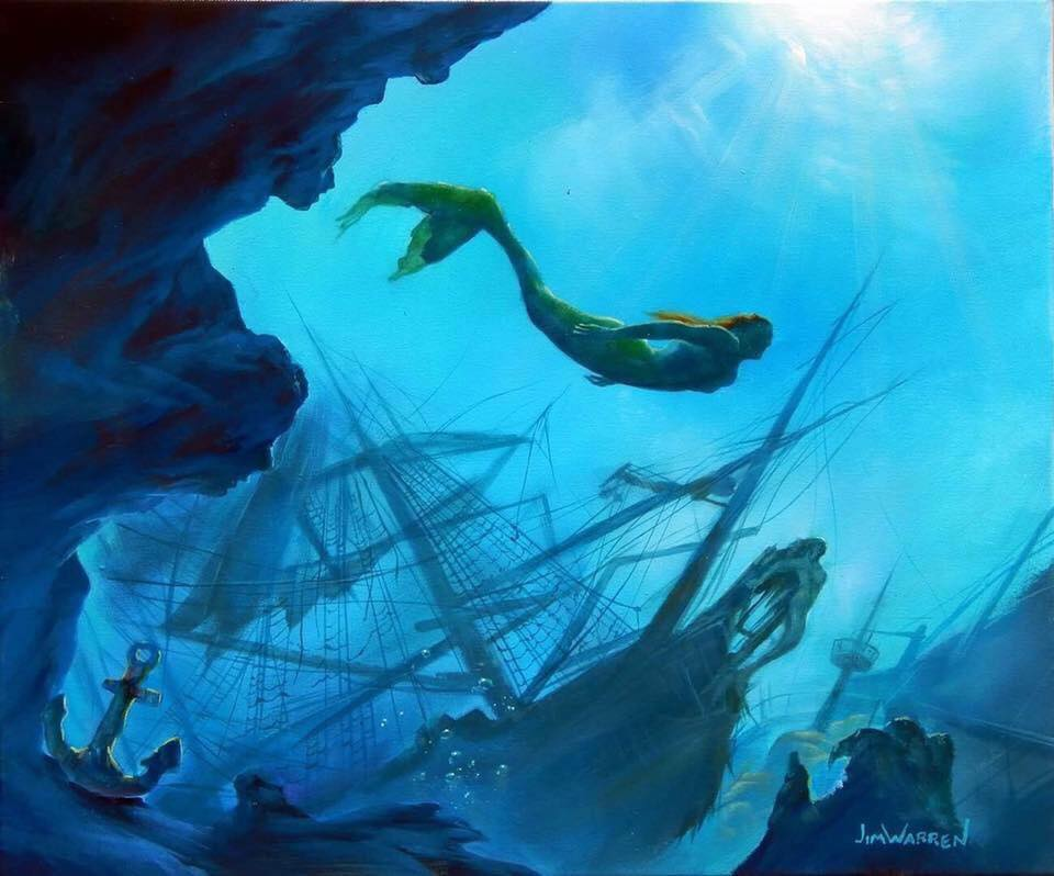 """Mermaid's Discovery"""