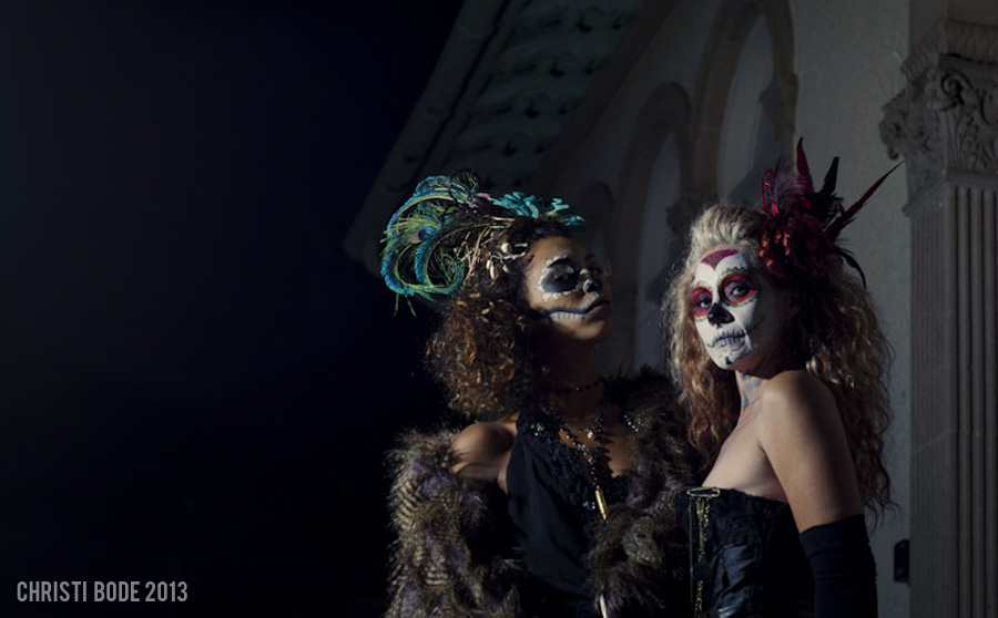 A collaboration with AK Studio featuring a Dia De Los Muertos inspired shoot.