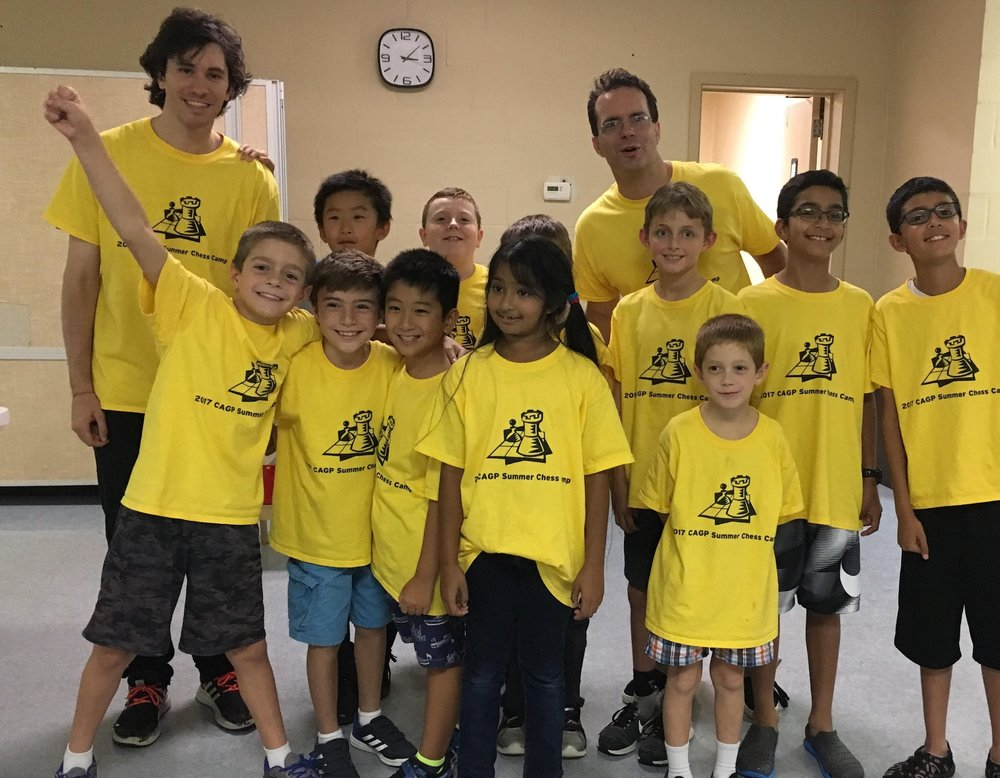 This is a group picture from one of the chess camps I ran in Pittsburgh, Pennsylvania in 2018