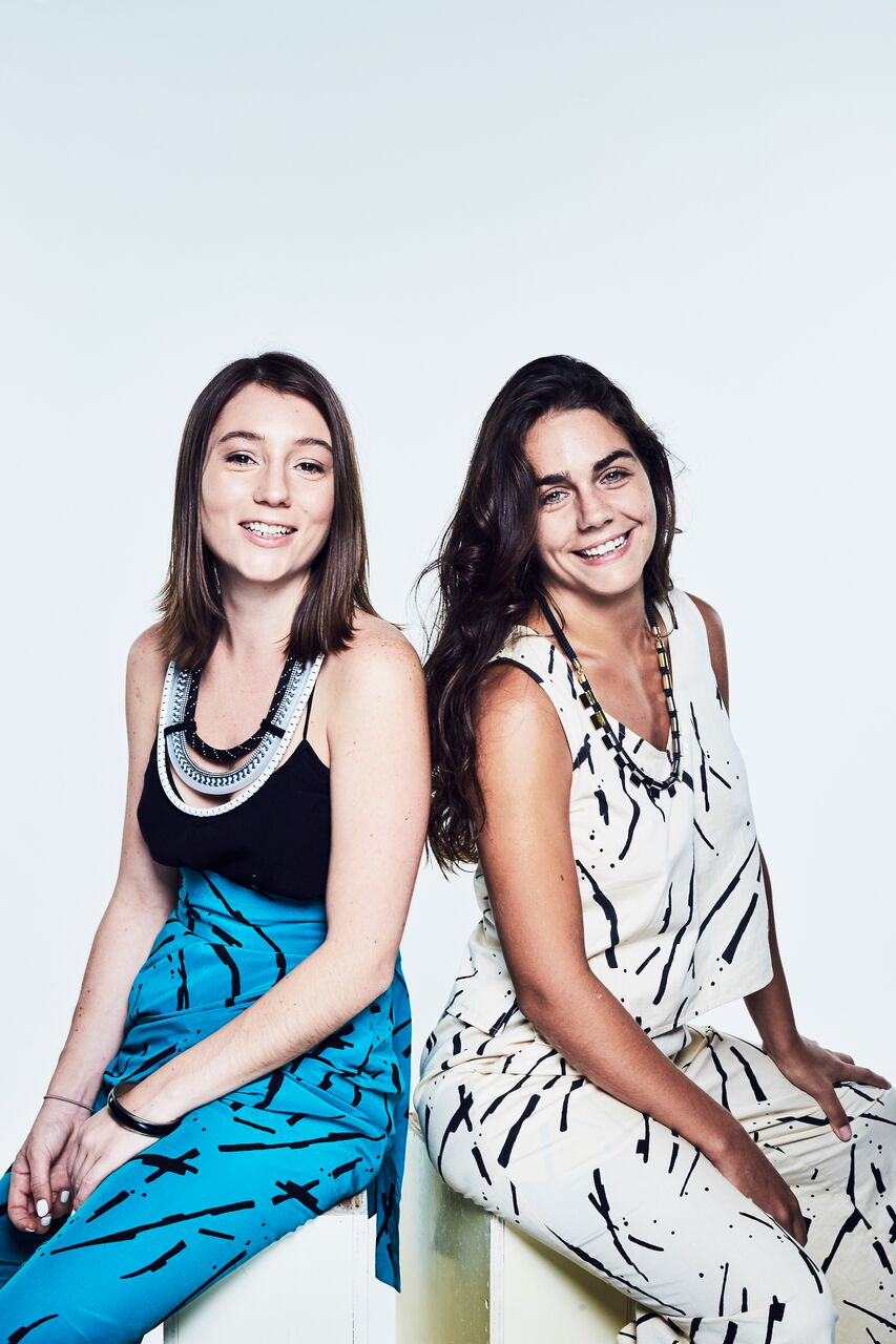 Stephanie Dickson and Paula Miquelis of Green Is The New Black Asia (credit: Zoe Kovacs & Flavien Prioreau)