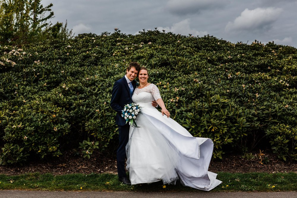 bruidspaar trouwen bruidsfotografie fotosessie