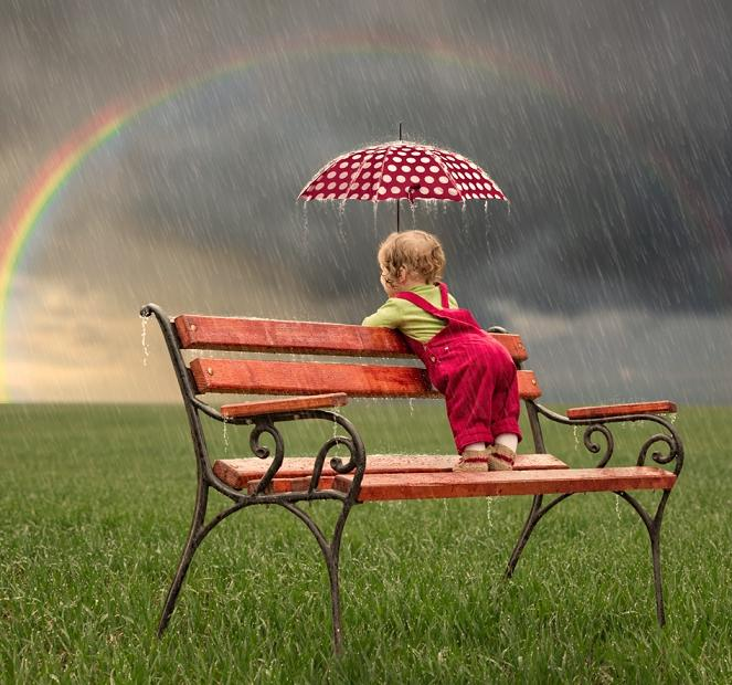 The sunshine after the rain -