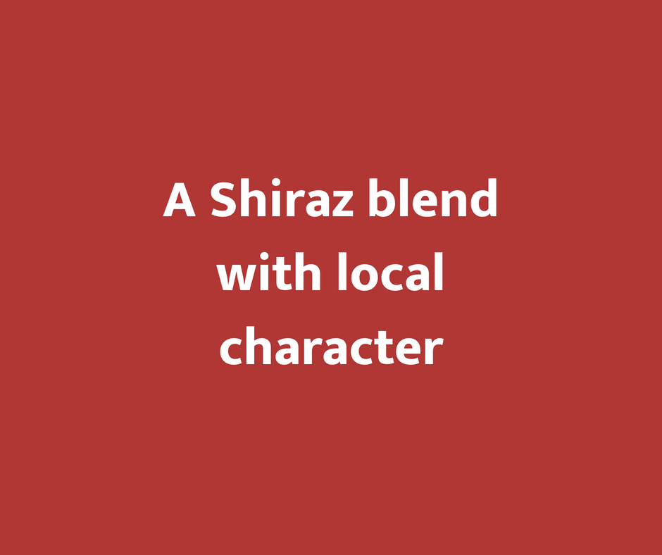 A Shiraz Blend with Local Character