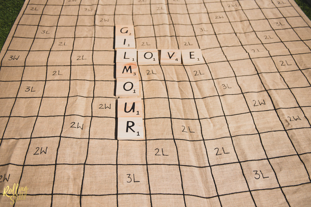 Giant Scrabble