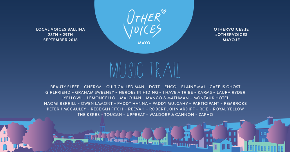 Other voices Music PR Marketing Ireland
