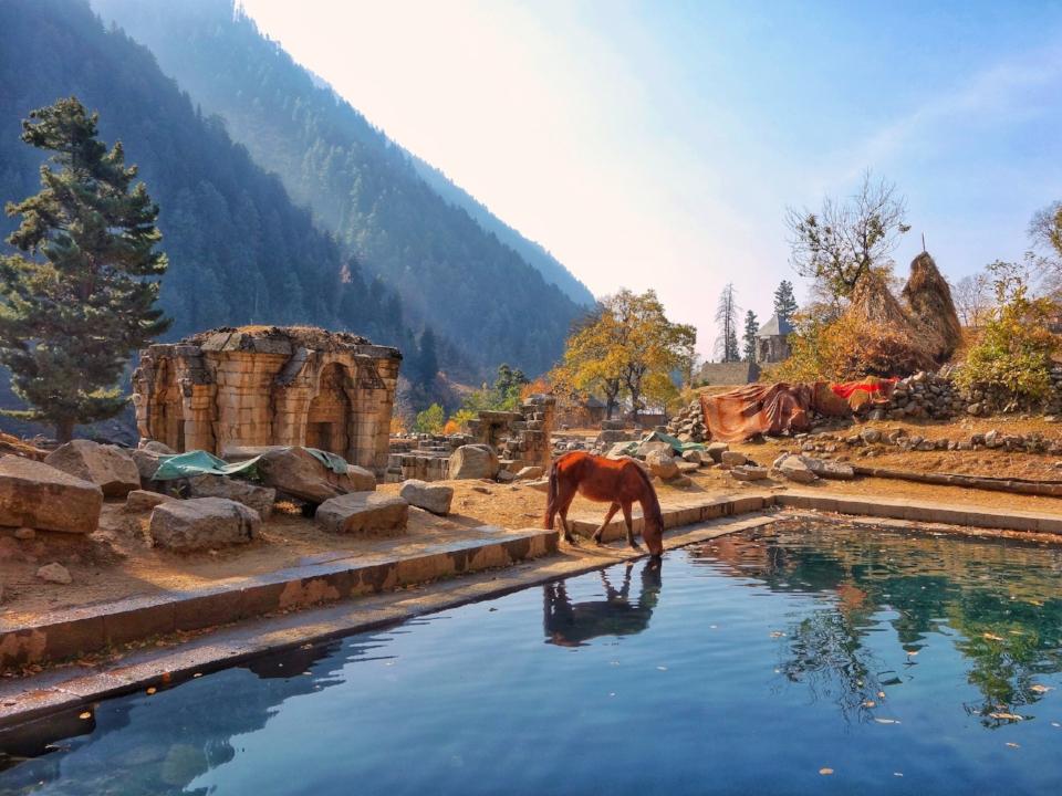 The Naranag Temple Complex -