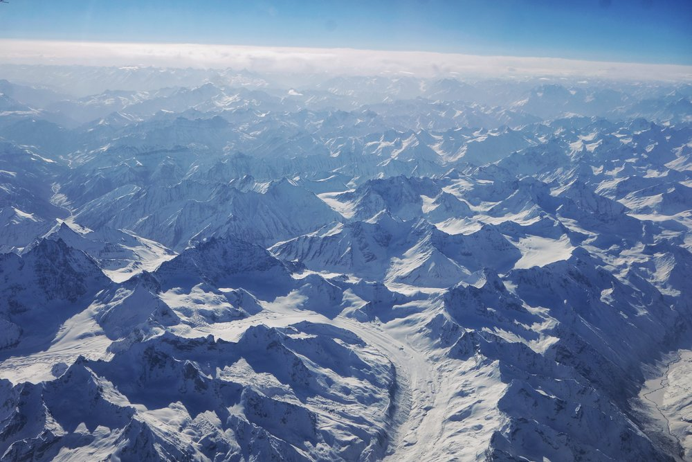 The Glaciers of the Great Himalayas
