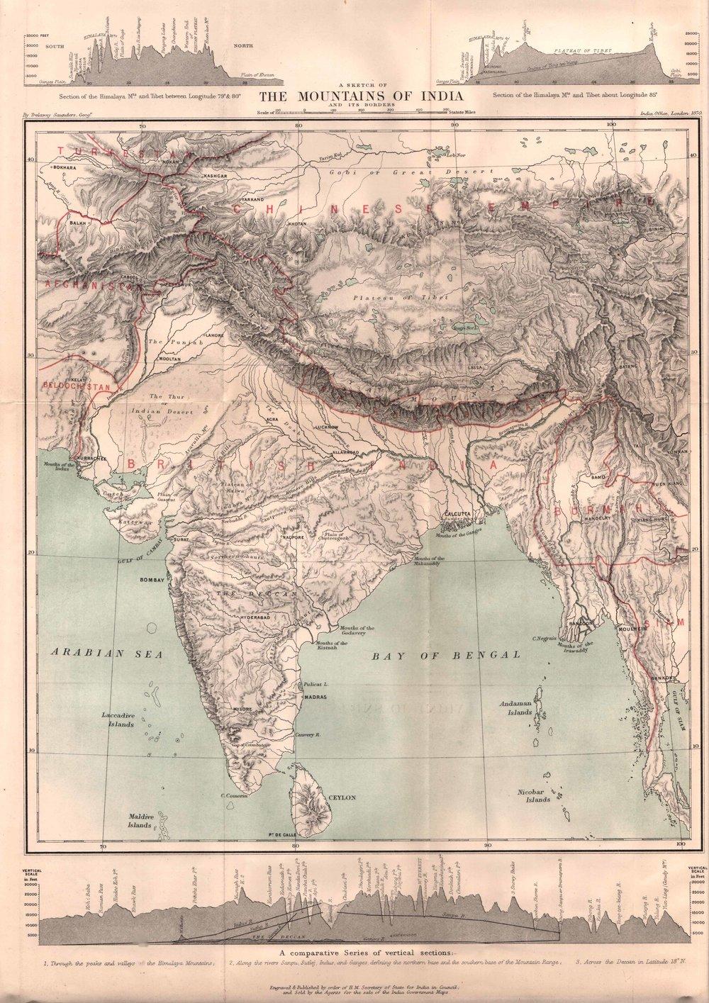Himalayan Maps -