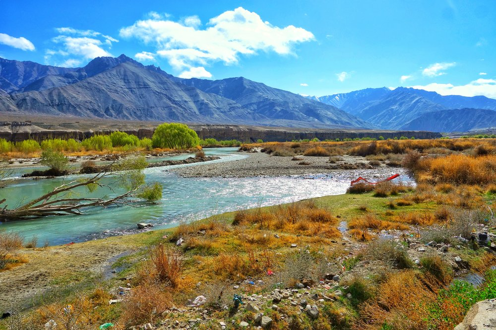The Indus near Leh
