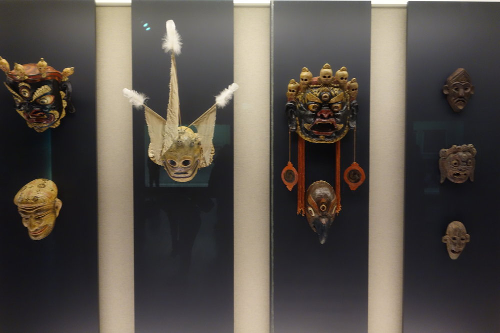 Tibetan Ceremonial Masks