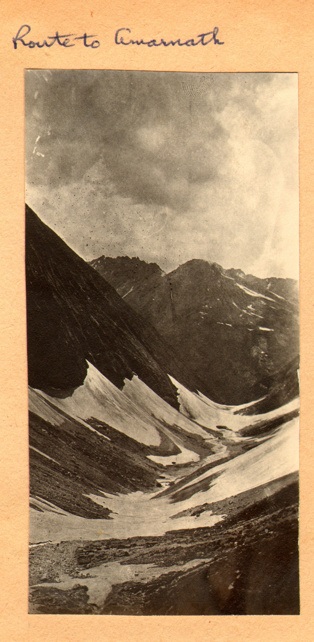 154 1920 Route to Amarnath by Ralph Stewart
