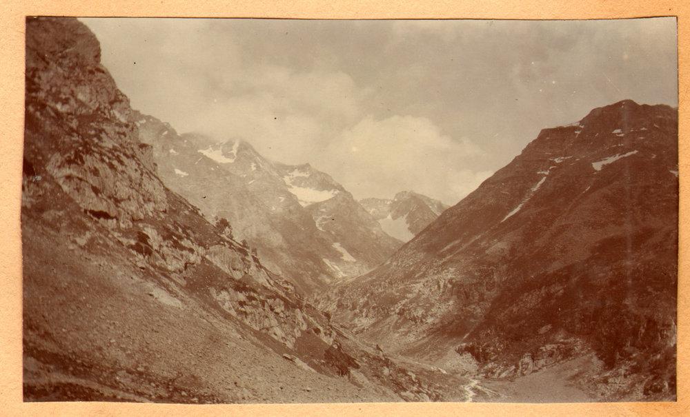 165 1920 Amarnath pilgrim route, Pahlgam by Ralph Stewart