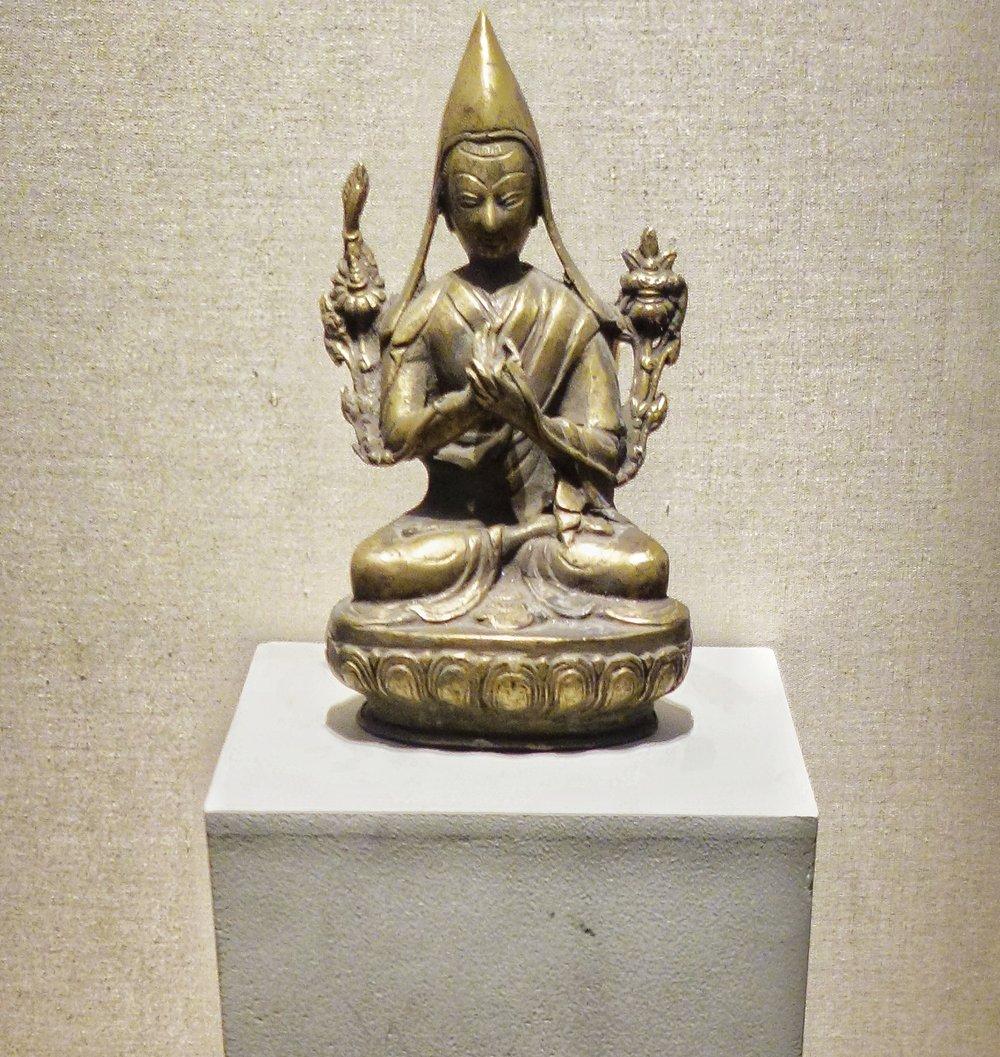 Seated Figure on Lotus : 9th Century