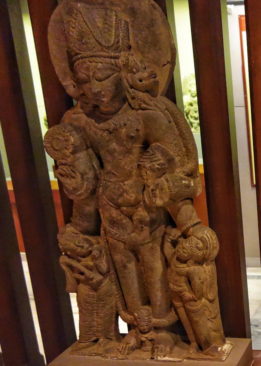 Vishnu : 10th Century, Stone